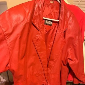 Jackets & Blazers - Beautiful Vintage Red Blazer